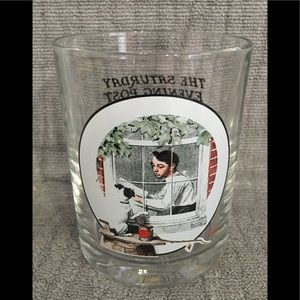 Norman Rockwell The Saturday Evening Post Glass